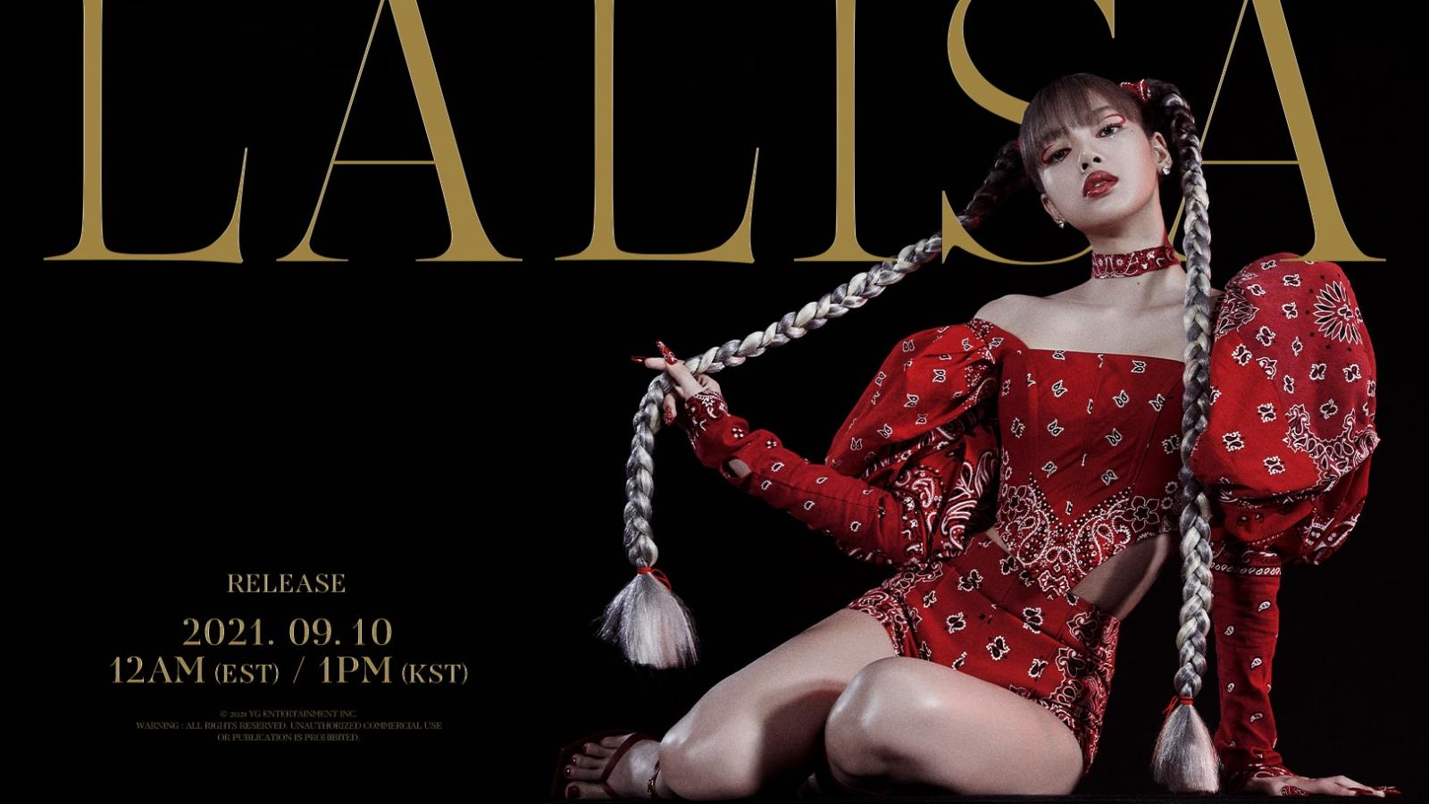 Lisa (BLACKPINK) lập kỷ lục nữ nghệ sĩ K-pop đầu tiên cán mốc 700.000 album solo đặt trước