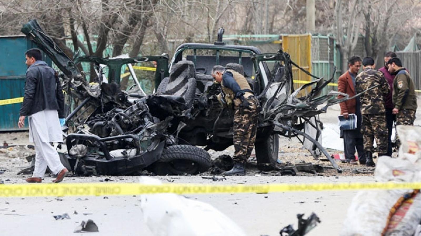 Nổ bom liên tiếp ở thủ đô Kabul của Afghanistan