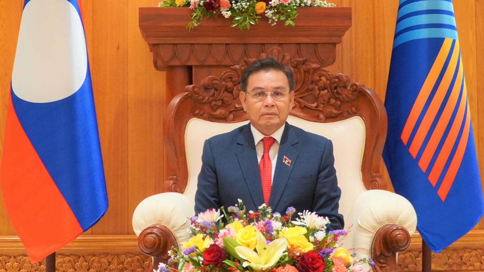 Chủ tịch Quốc hội Lào đánh giá cao các sáng kiến và đề xuất của Việt Nam tại AIPA 42