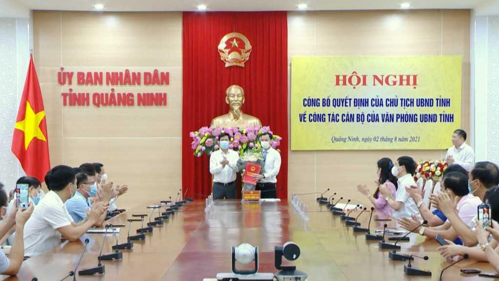 Ông Phạm Hồng Biên giữ chức Chánh Văn phòng UBND tỉnh Quảng Ninh