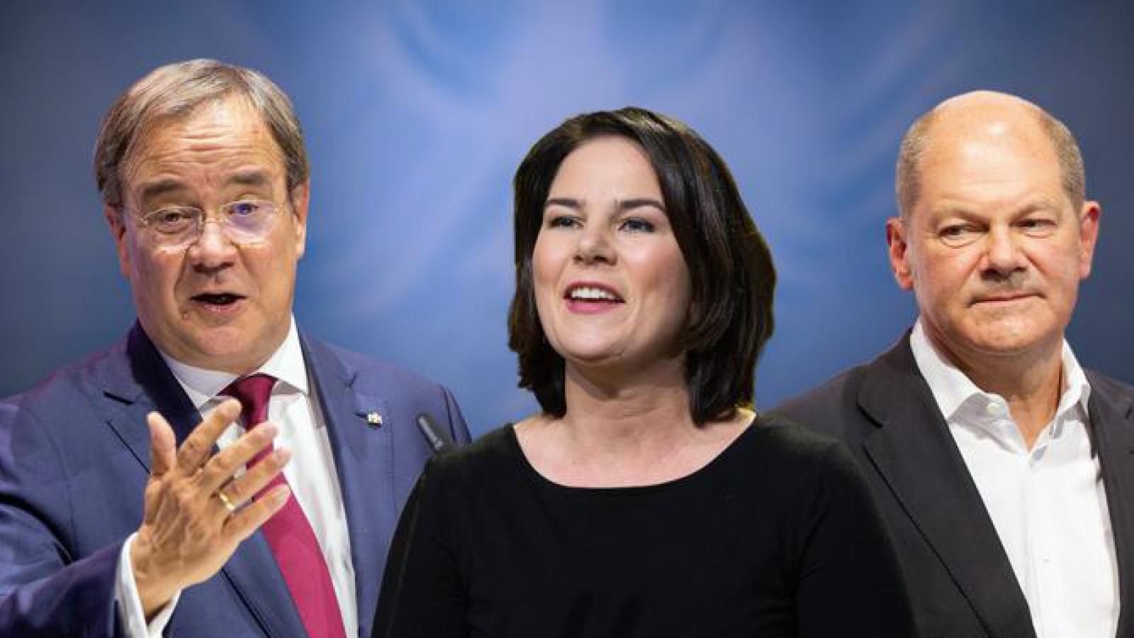 3 ứng cử viên thay bà Merkel có phiên tranh luận đầu tiên trên truyền hình Đức