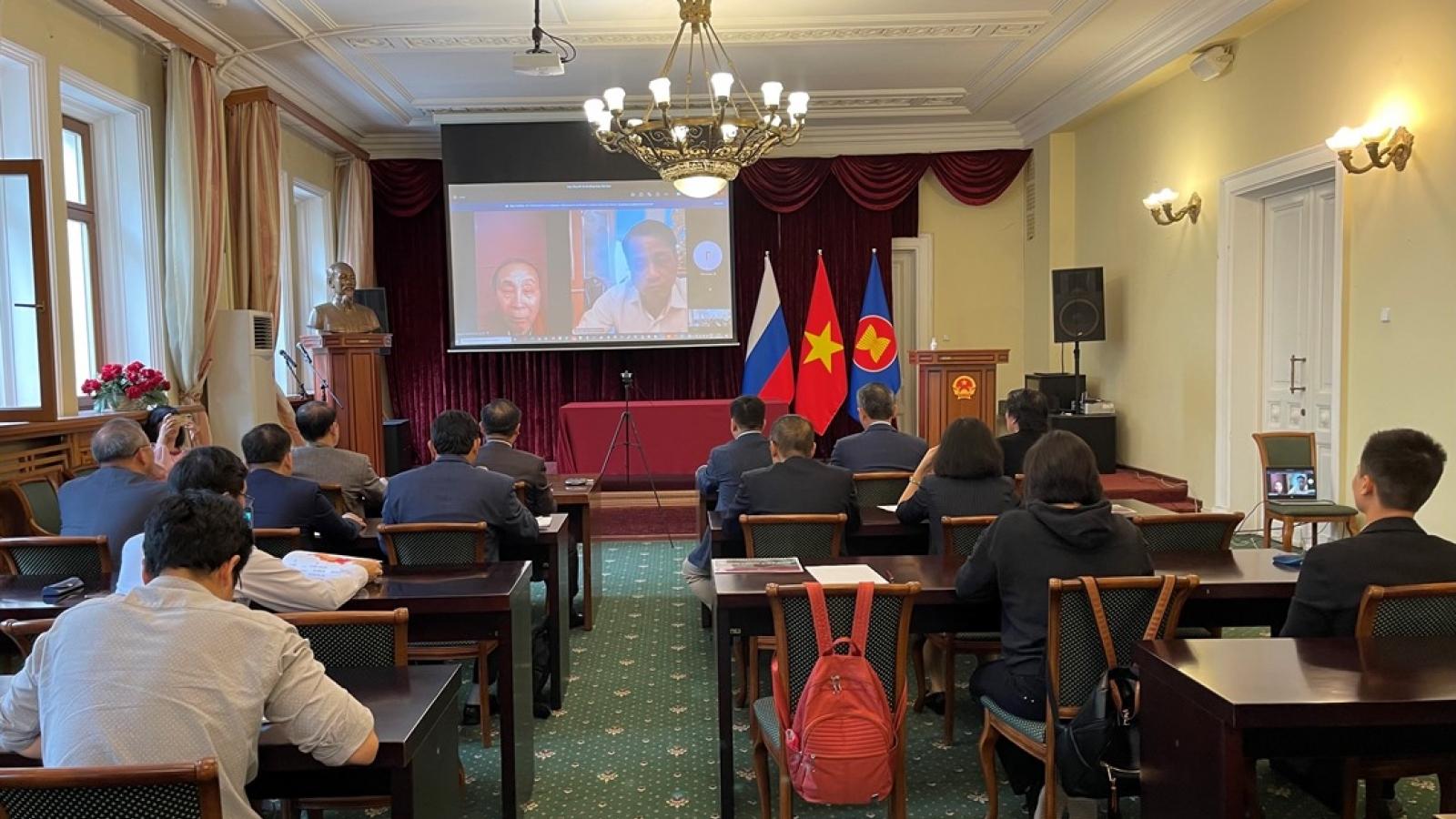 Cộng đồng người Việt tại Nga quyên góp được hơn 10 triệu rúp hỗ trợ trong nước chống dịch