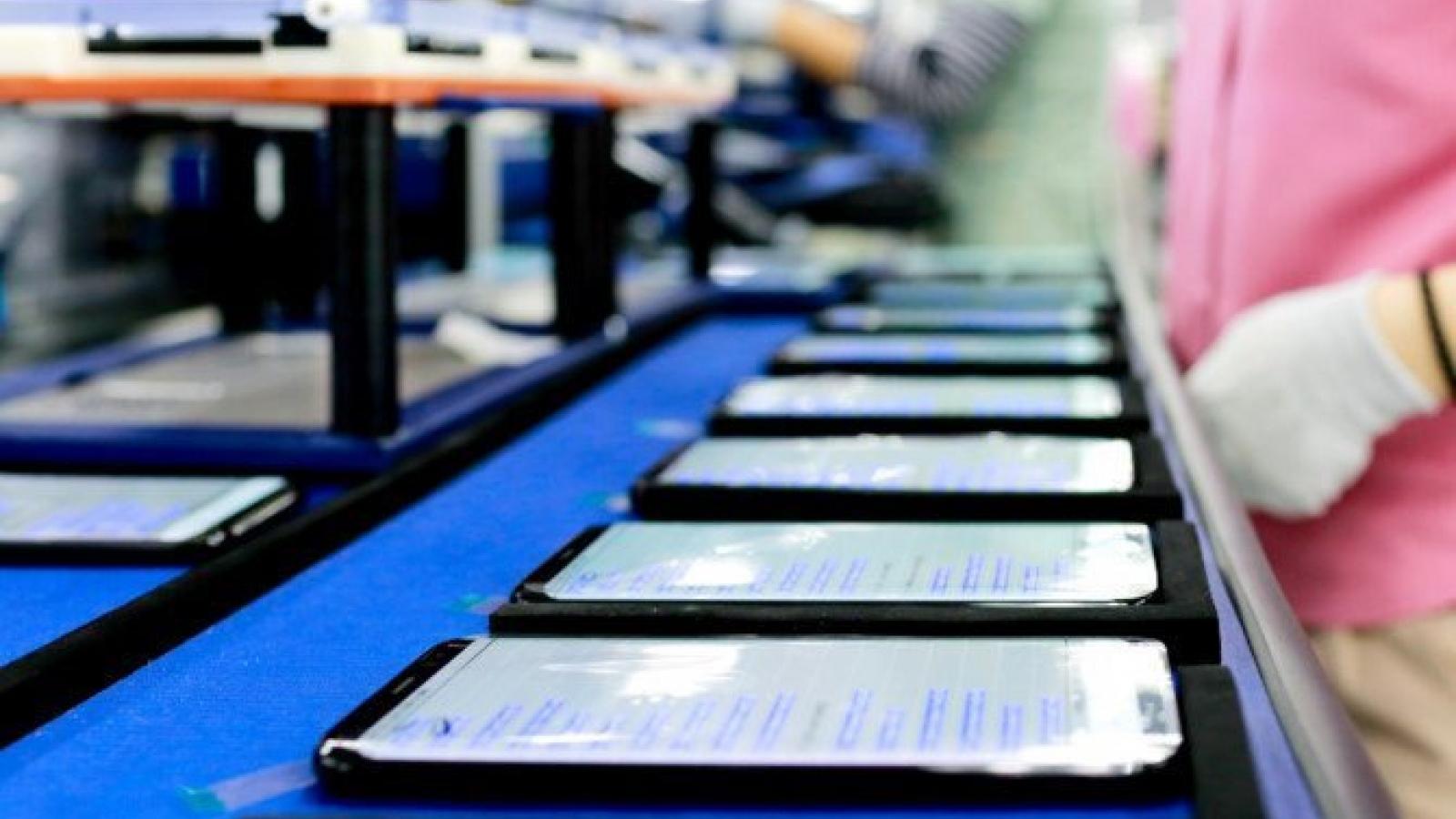 Xuất khẩu điện thoại, linh kiện đạt 29,3 tỷ USD trong 7 tháng năm 2021