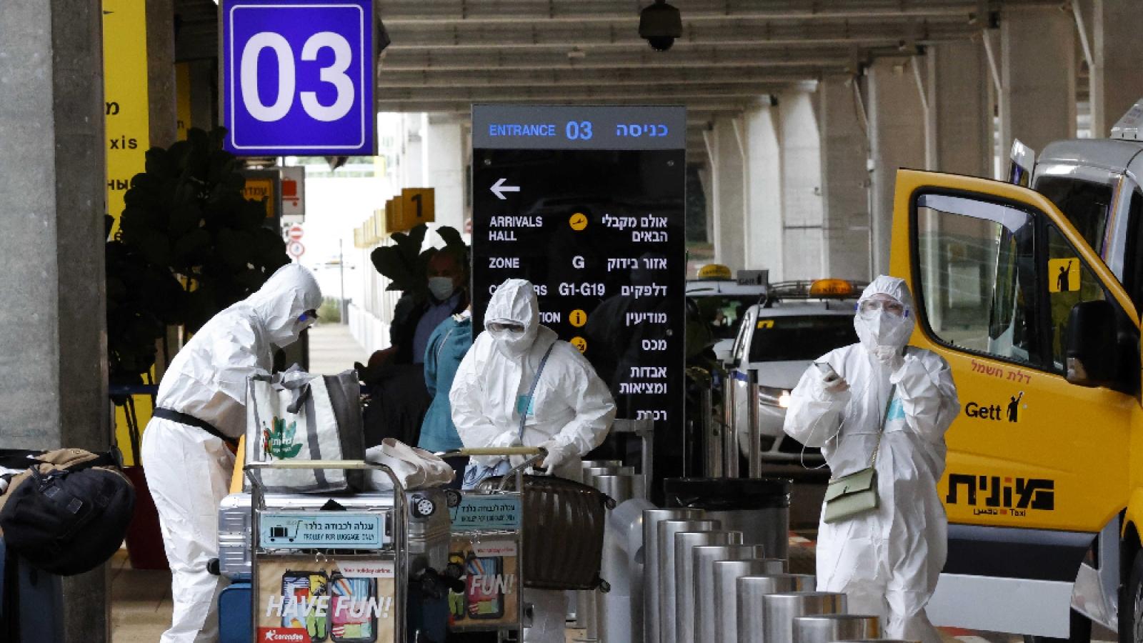 Israel áp dụng các hạn chế mới trong bối cảnh số ca mắc Covid-19 tăng nhanh trở lại