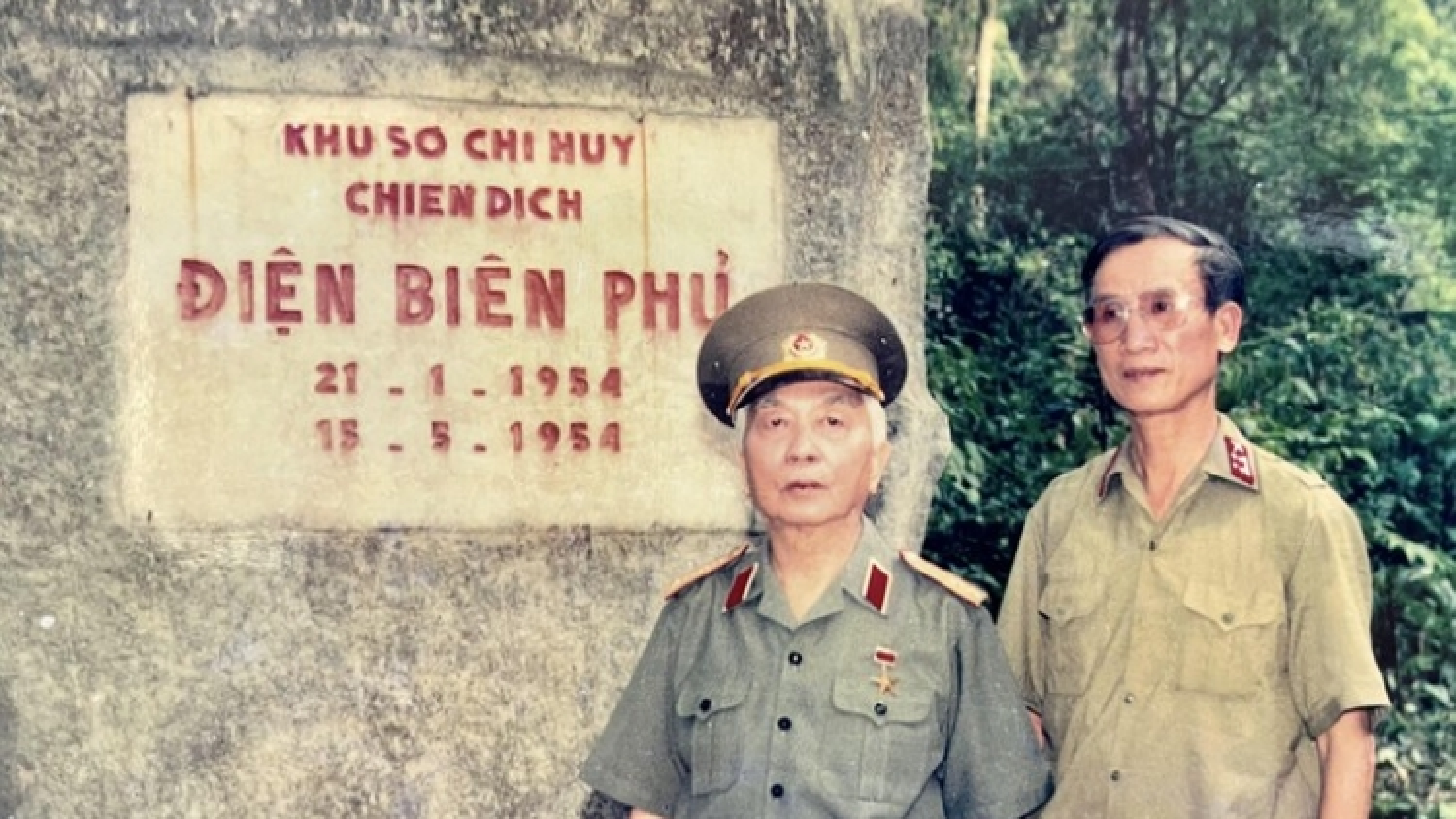 Đại tá Trần Huy Khuông và 3000 bức ảnh về Đại tướng Võ Nguyên Giáp