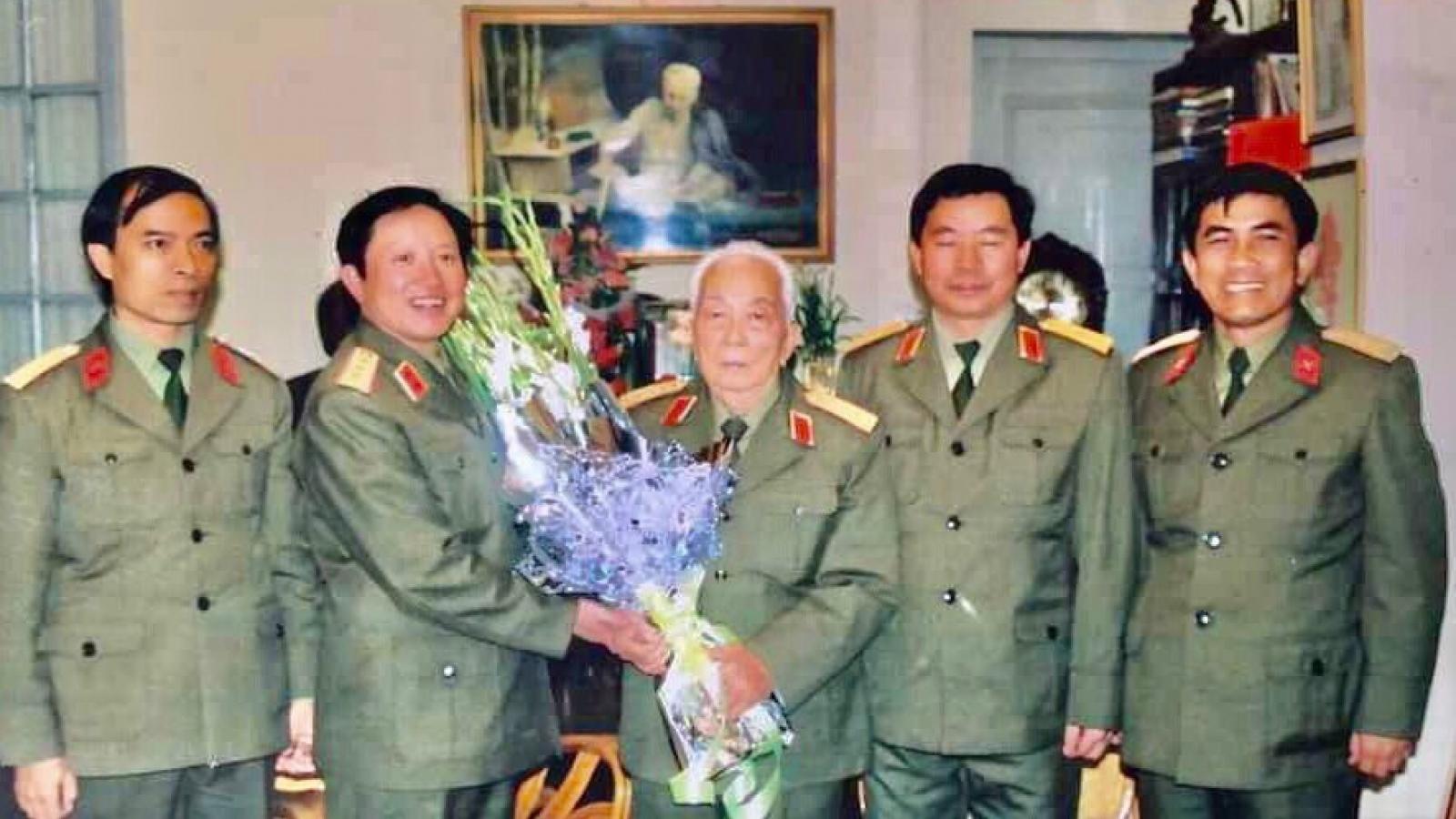 Thượng tướng Nguyễn Huy Hiệu và những hồi ức đẹp về Đại tướng Võ Nguyên Giáp
