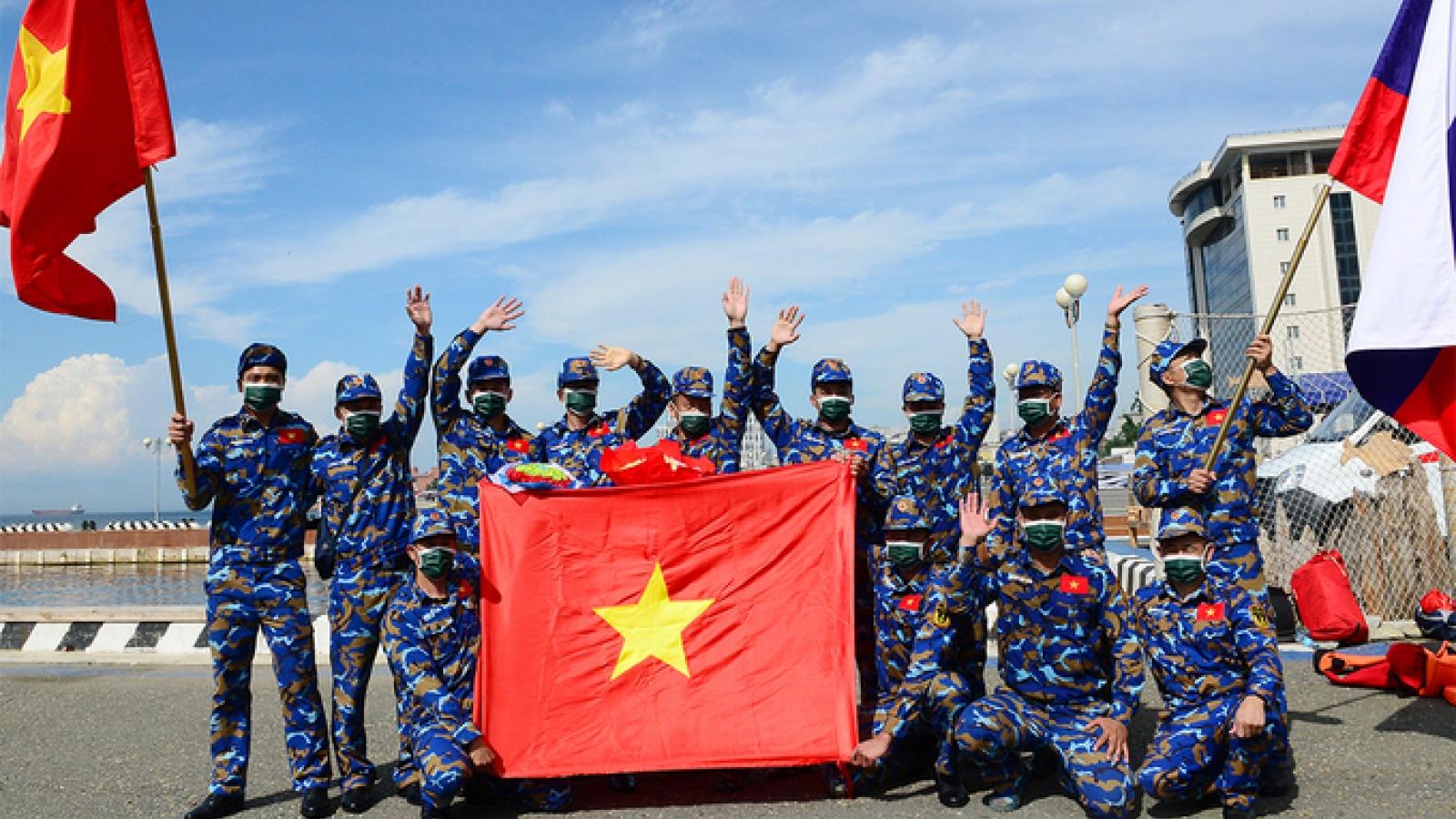 Việt Nam đã sẵn sàng cho lễ khai mạc Army Games 2021 tại Hà Nội