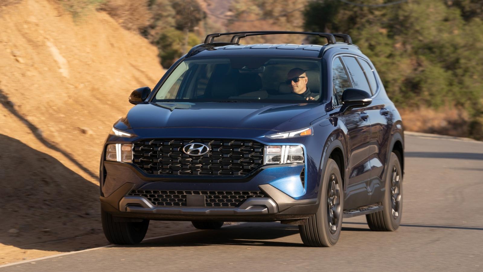 Hyundai Santa Fe 2022 có thêm phiên bản XRT