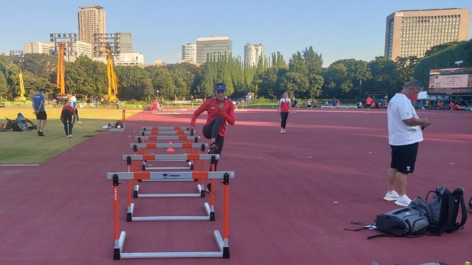 Quách Thị Lan miệt mài tập luyện, mơ làm nên điều kỳ diệu ở Olympic Tokyo 2020