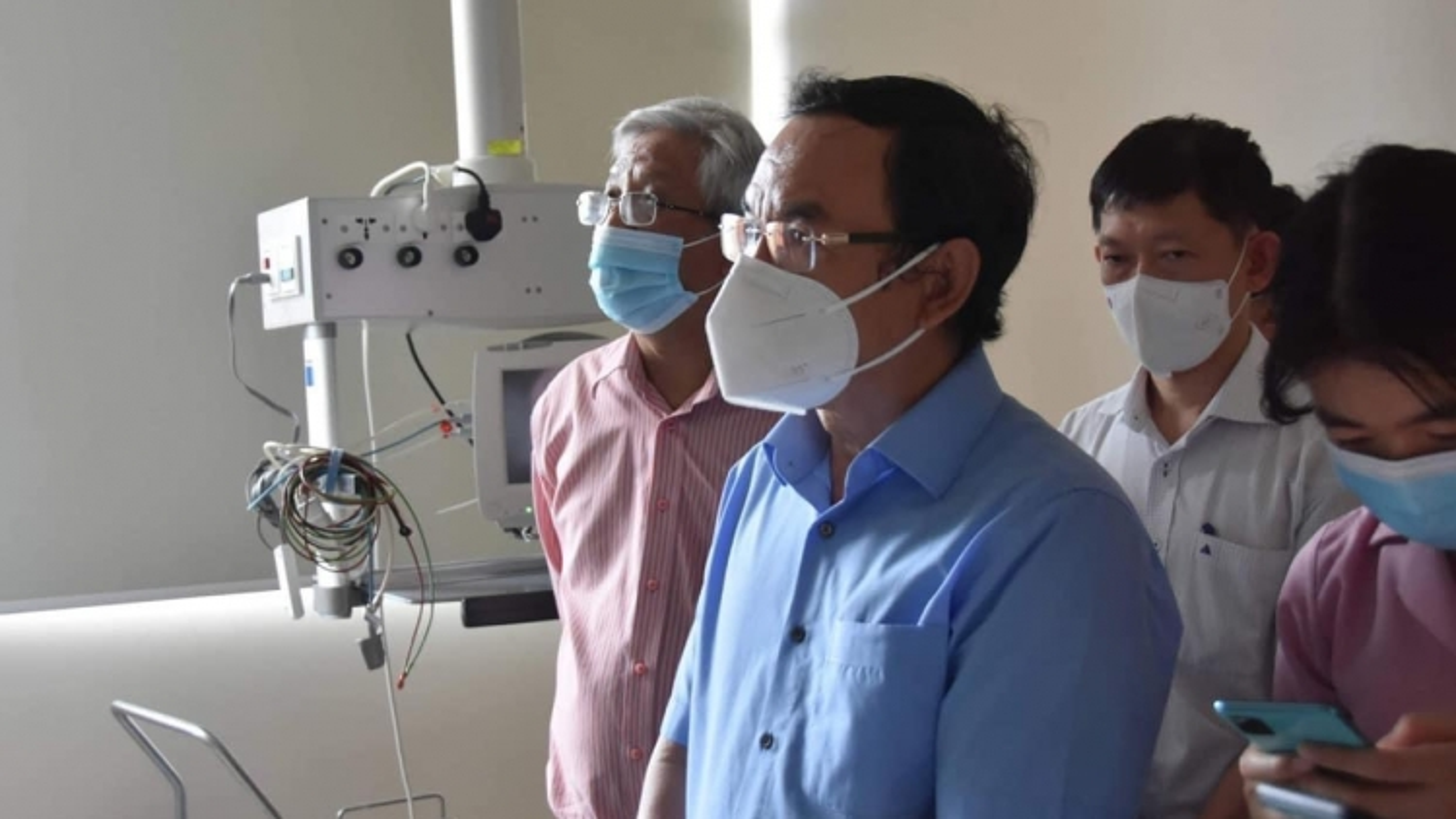 Khẩn trương tiếp nhận bệnh nhân tại 4 Trung tâm Hồi sức tích cực Covid-19 tại TP.HCM