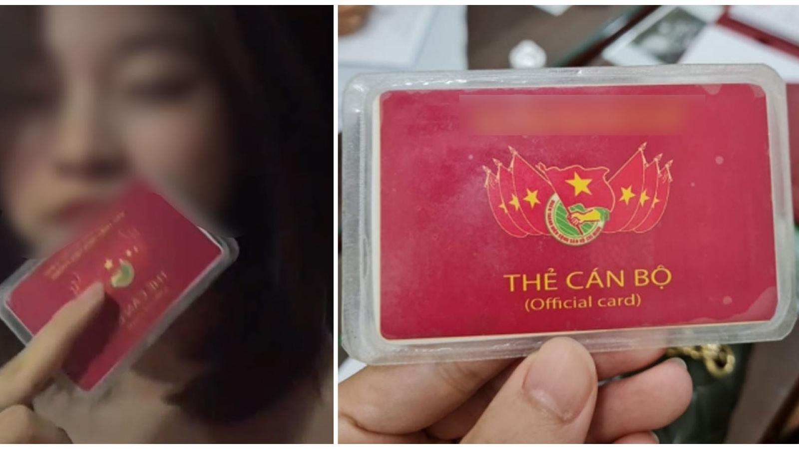 """Phạt 12,5 triệu với hotgirl ở Hà Nội khoe """"tấm thẻ đỏ quyền lực"""""""