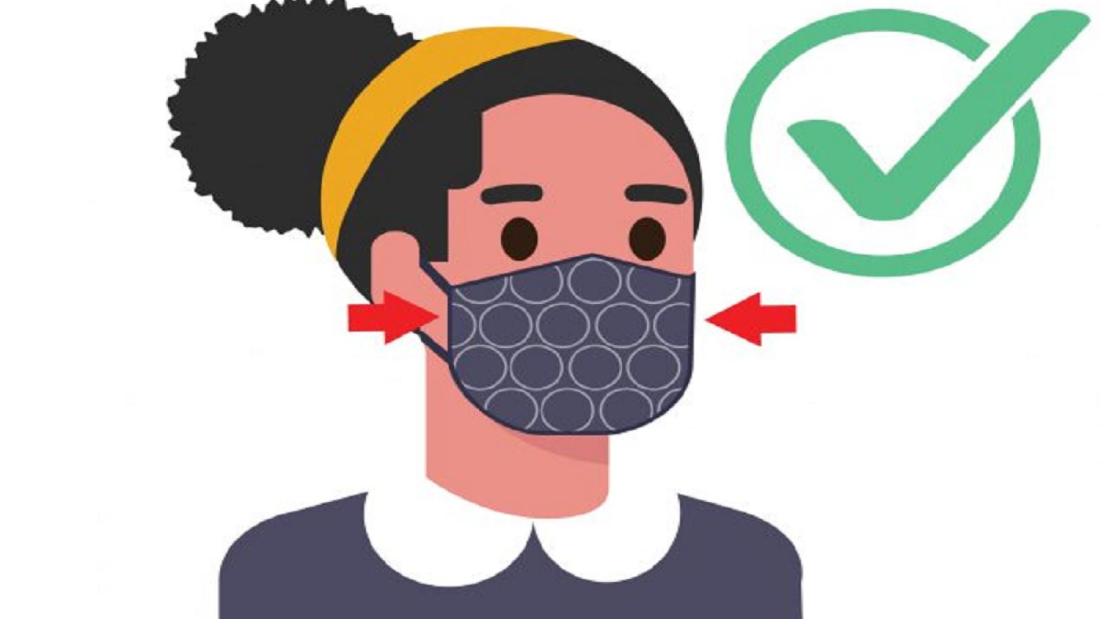Những điều nên và không nên làm khi đeo khẩu trang để tránh lây nhiễm COVID-19