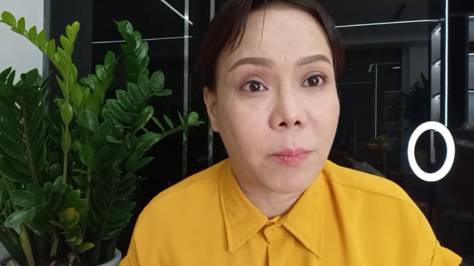 Chuyện showbiz: Việt Hương bức xúc lên tiếng khi bị nói đòi 1,5 triệu mới giao bình oxy
