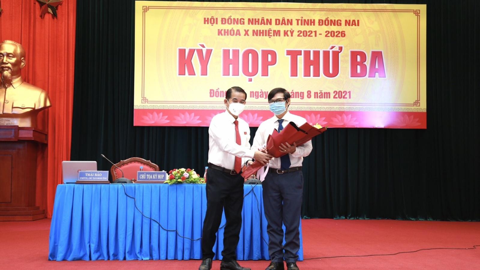 Ông Nguyễn Sơn Hùng được bầu bổ sung làm Phó Chủ tịch UBND tỉnh Đồng Nai