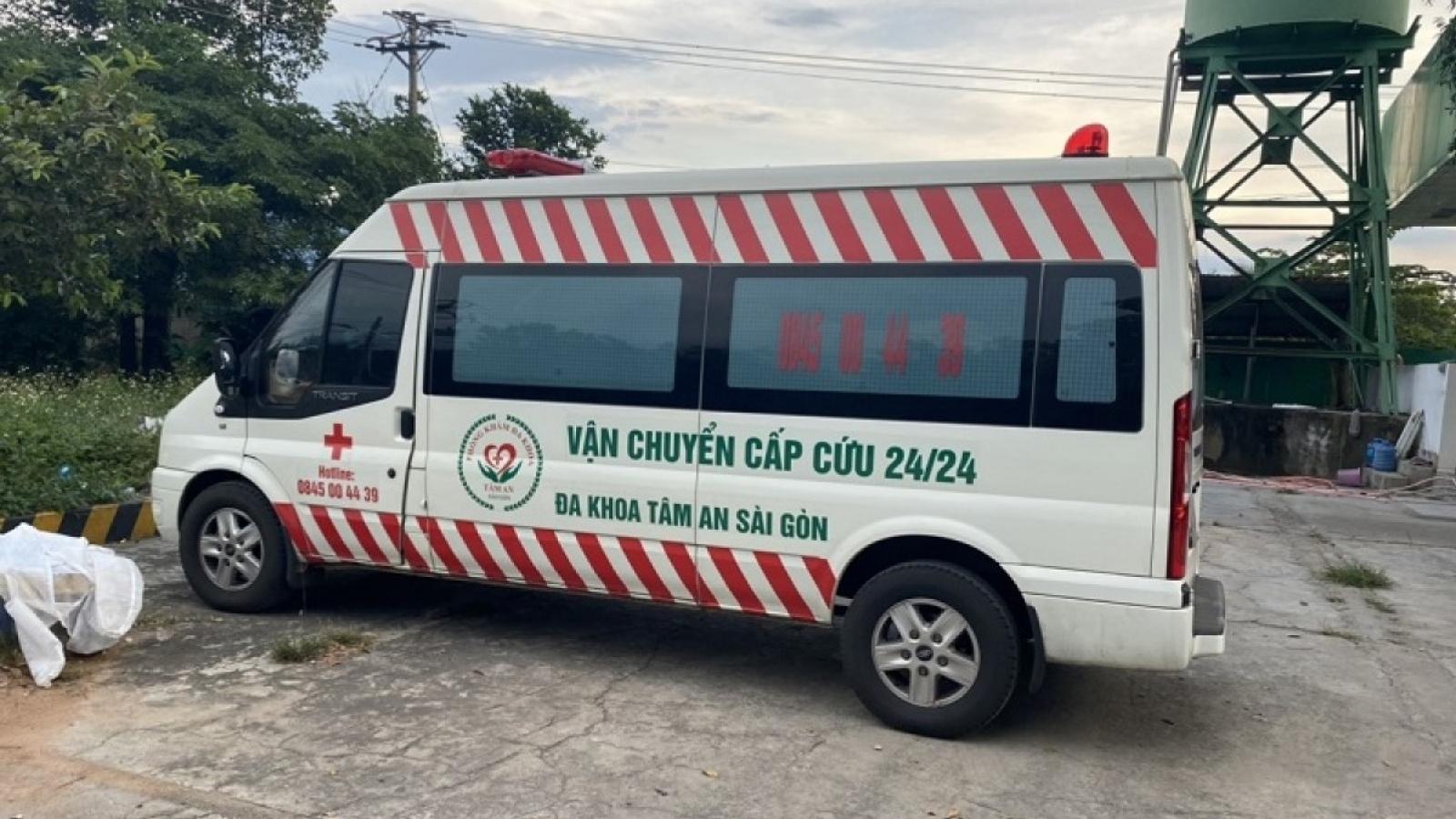 Hà Nội tăng cường kiểm tra xe cứu thương, xe công vụ trong thời gian giãn cách