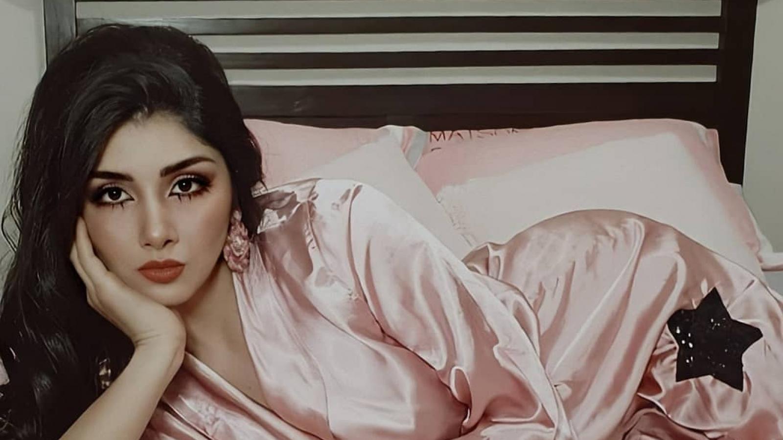 Nhan sắc tân Hoa hậu Quốc tế Peru 2021 vừa được bổ nhiệm