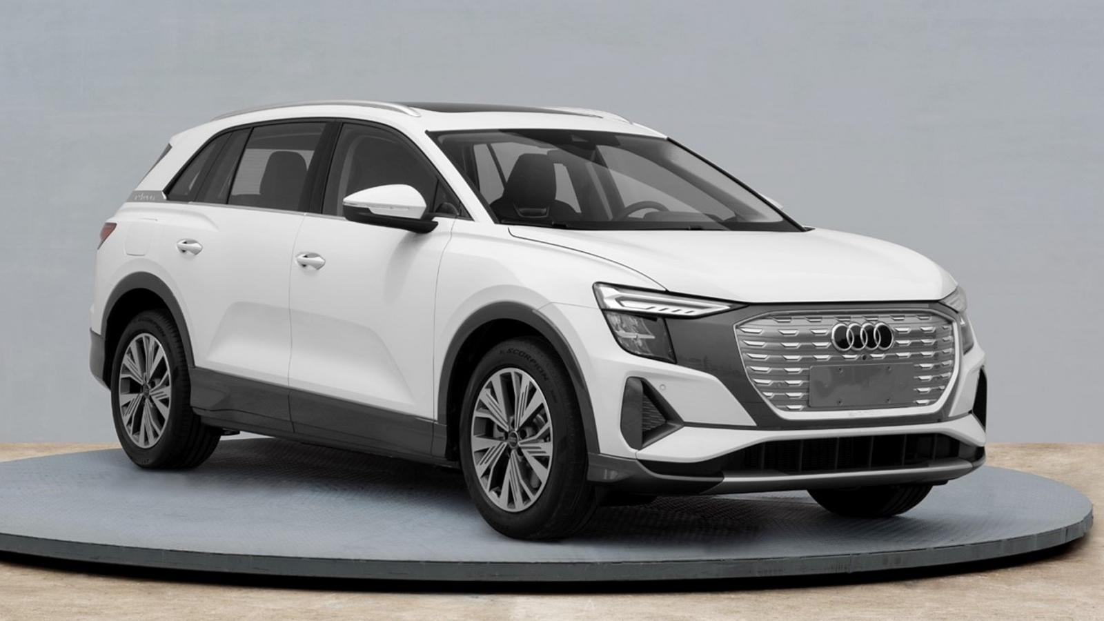 """Hình ảnh Audi Q5 e-tron 2022 """"rò rỉ"""" tại Trung Quốc"""