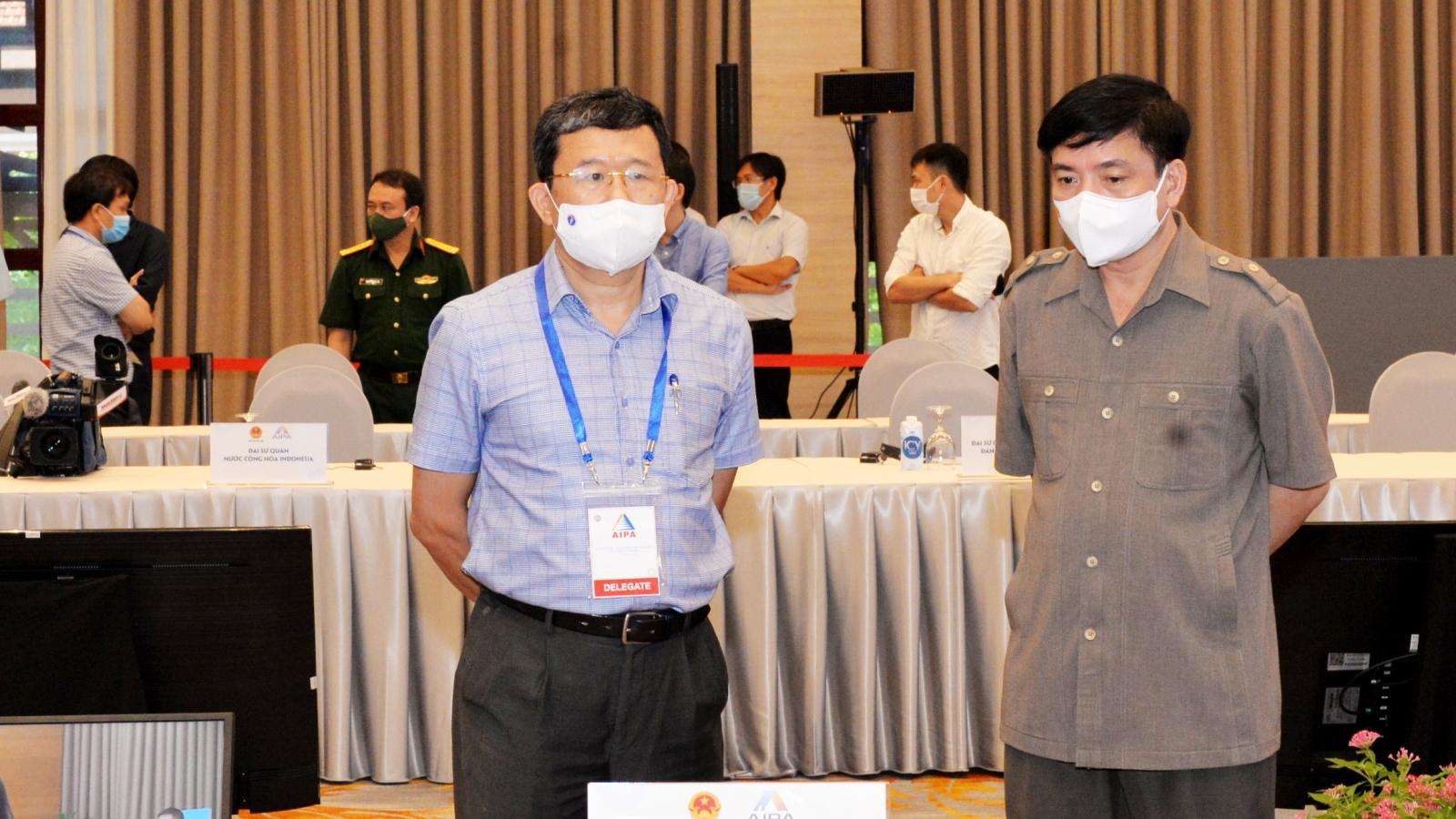 Kiểm tra công tác chuẩn bị phục vụ Đoàn đại biểu cấp cao Quốc hội Việt Nam dự AIPA-42
