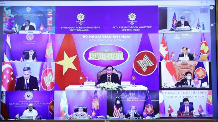 ASEAN committed to settling sea-related disputes by peaceful means