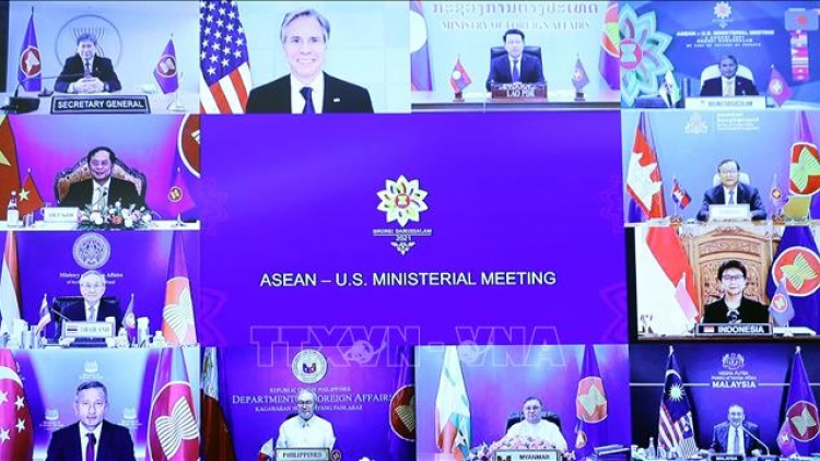 ASEAN, US prioritise COVID-19 response, post-pandemic recovery