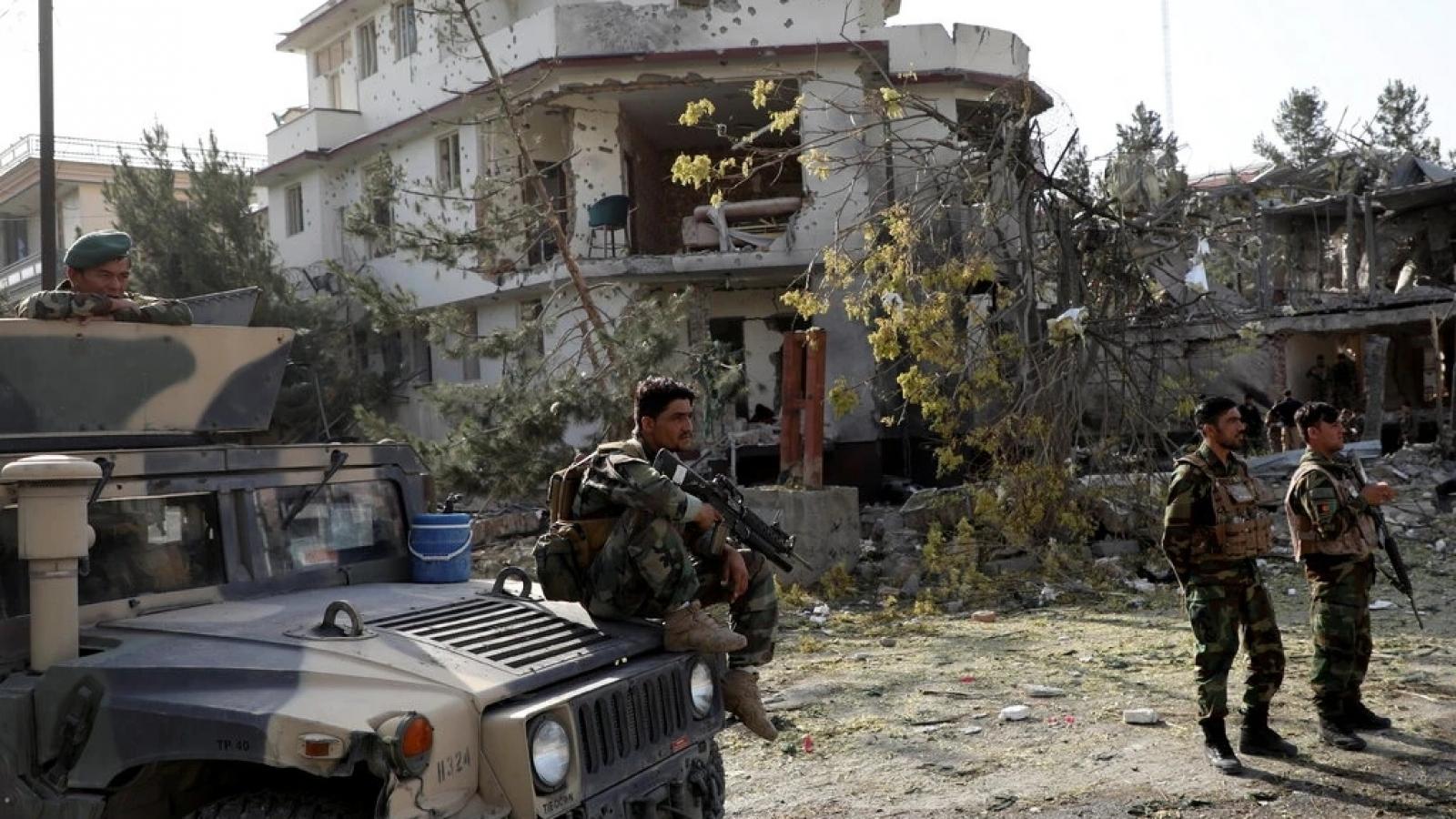 Mỹ yêu cầu Taliban không đánh Đại sứ quán Mỹ trong trận chiến sắp tới ở thủ đô Afghanistan