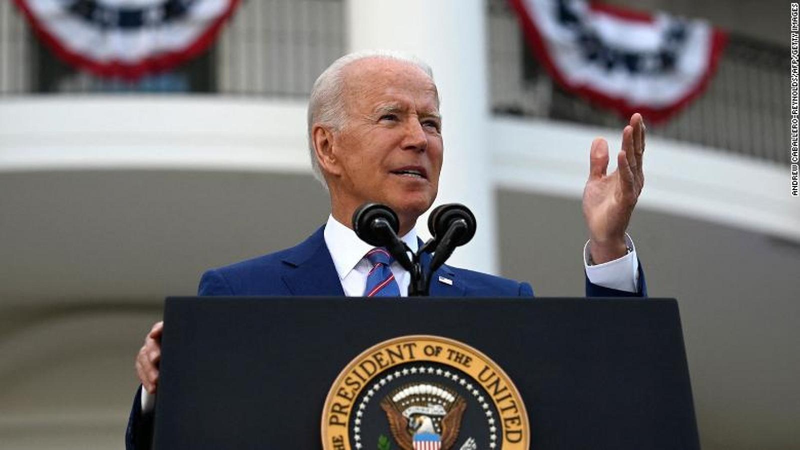 """Biến thể Delta lan """"như cháy rừng"""", Tổng thống Biden chỉ trích các thống đốc đảng Cộng hòa"""