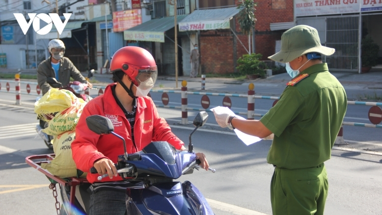 Mekong Delta city tightens COVID-19 prevention measures