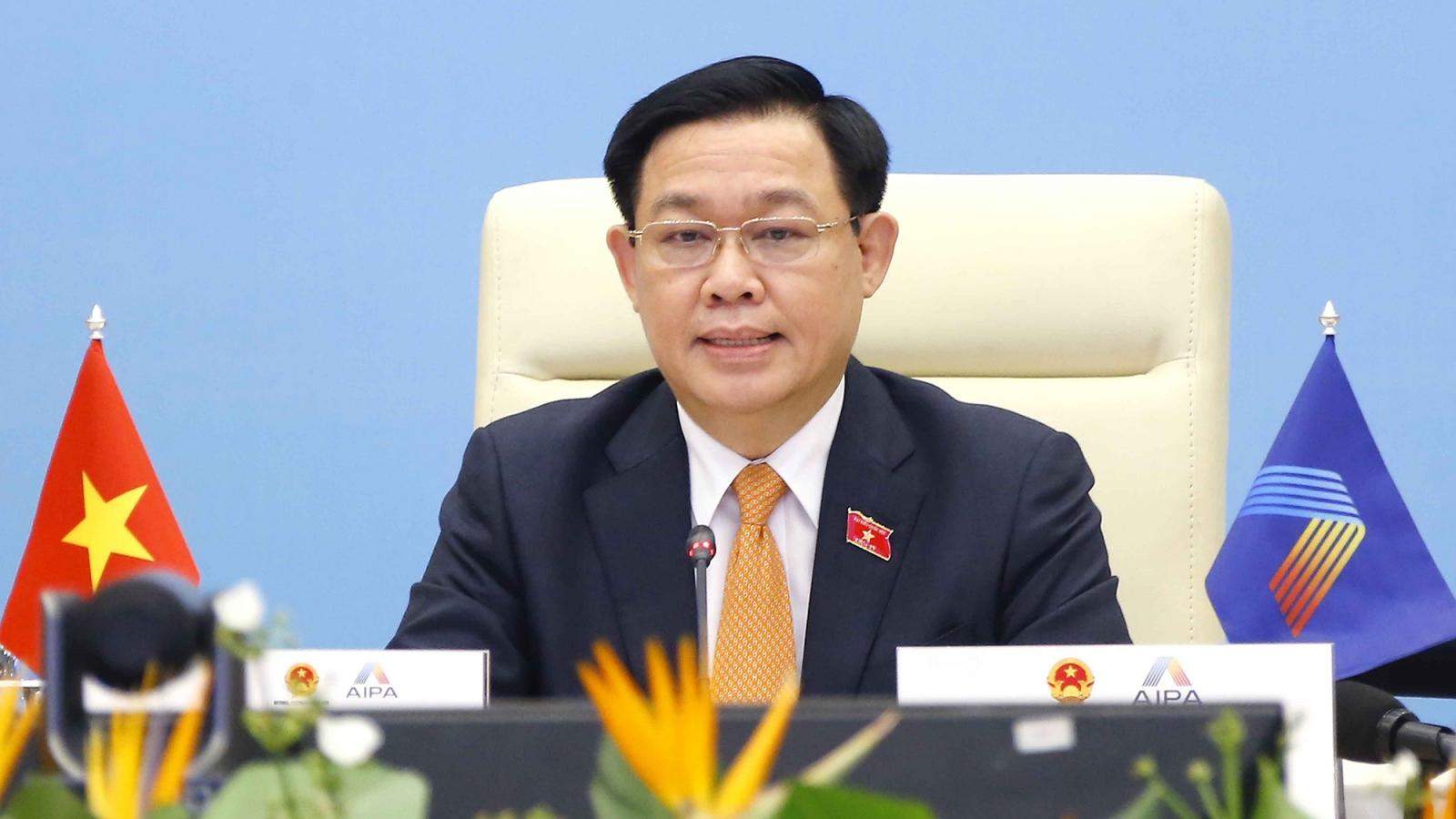Chủ tịch Quốc hội: Càng qua sóng gió thì tình cảm ASEAN càng được củng cố và bồi đắp
