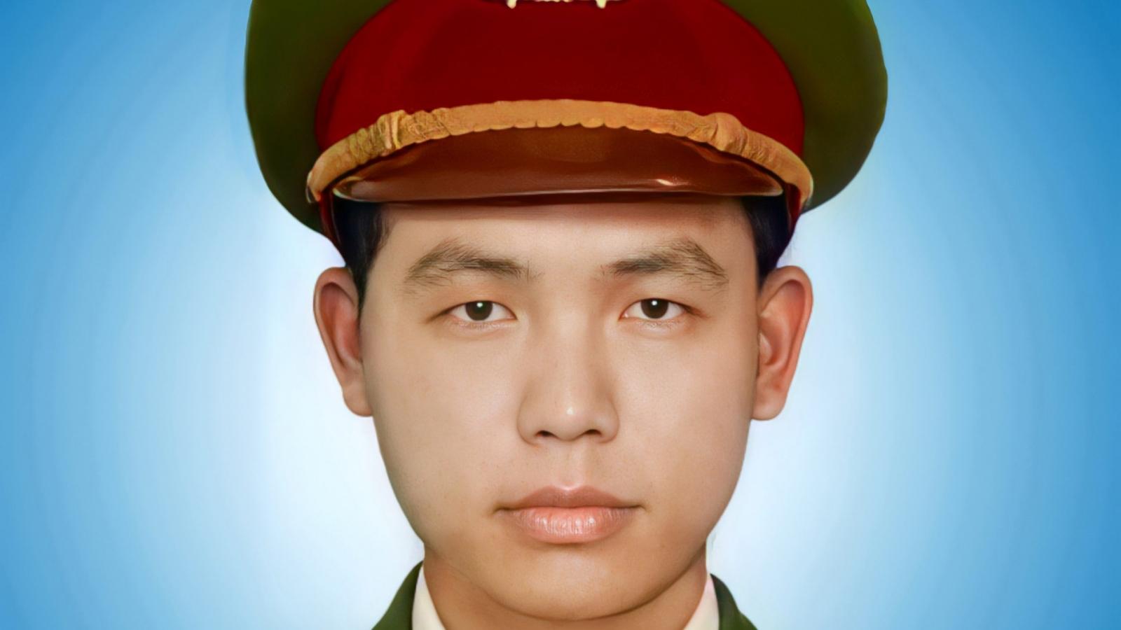 Thông tin chính thức vụ Thượng úy công an hy sinh khi truy đuổi người vi phạm Chỉ thị 16