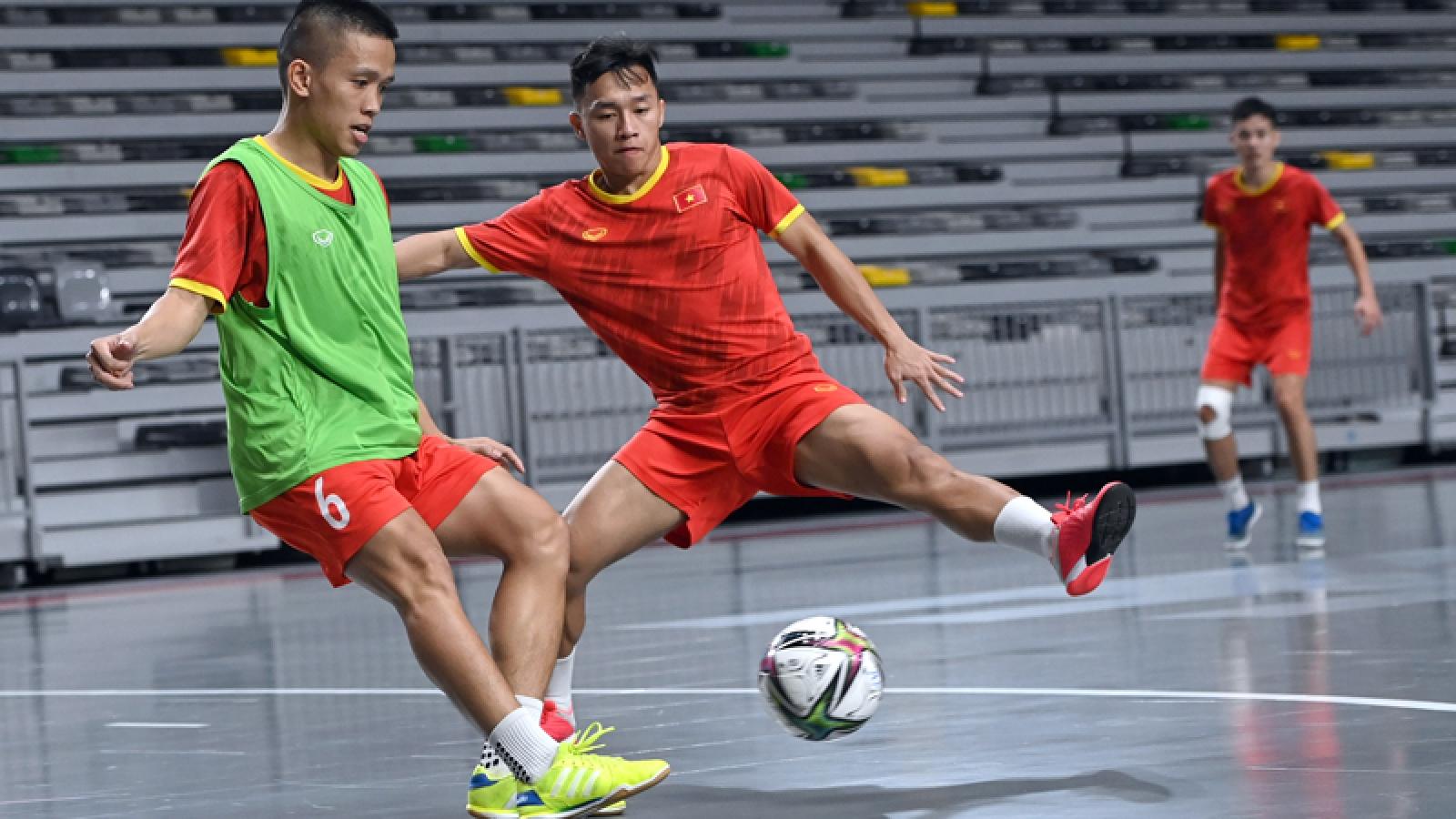 ĐT Futsal Việt Nam chạm trán đội bóng số 1 thế giới trước thềm World Cup