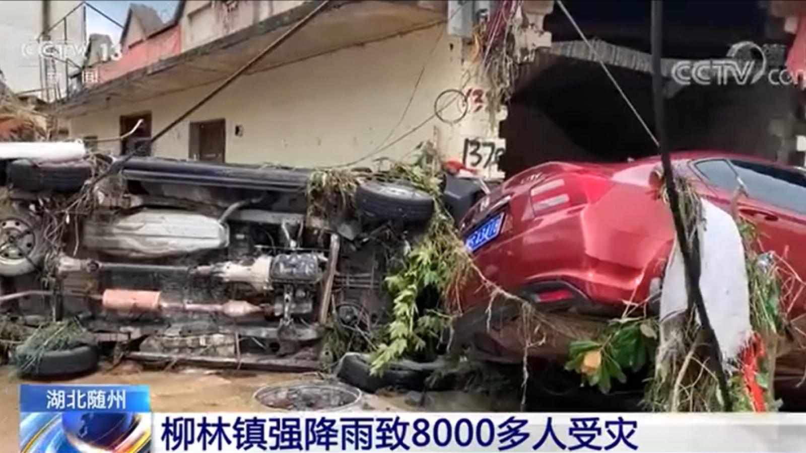21 người thiệt mạng vì mưa lớn ở Hồ Bắc (Trung Quốc)