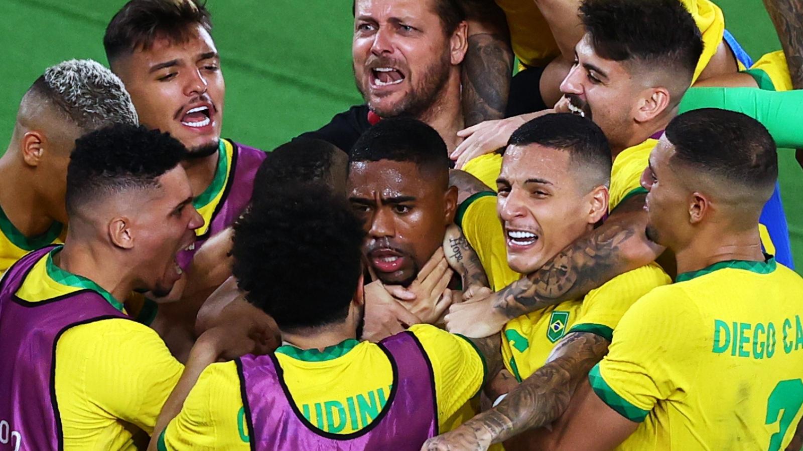 Hạ Tây Ban Nha sau 120 phút, Brazil bảo vệ thành công HCV bóng đá nam Olympic