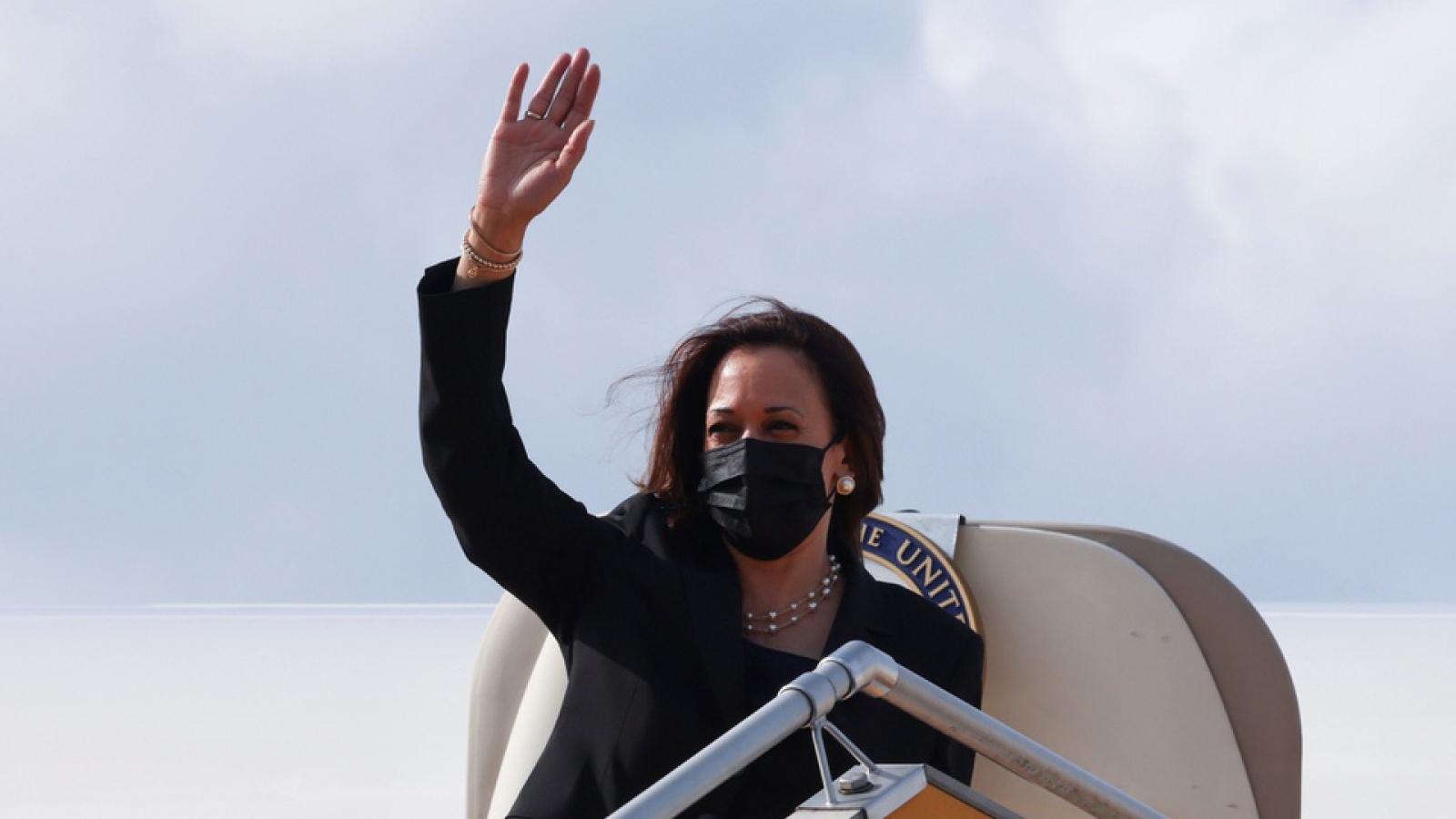 US VP Harris concludes Vietnam visit