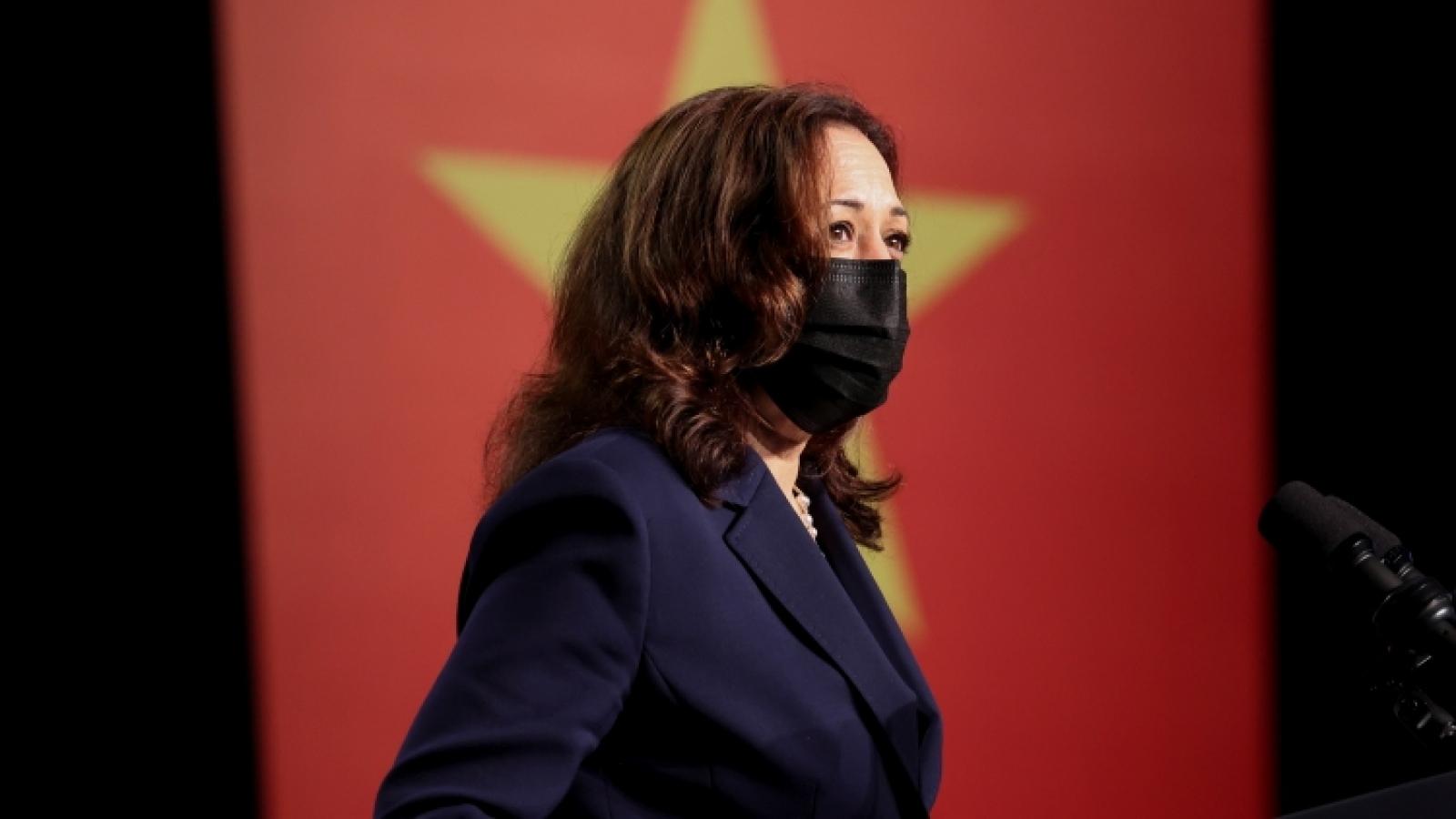 US, Vietnam 'making progress together', says VP Harris