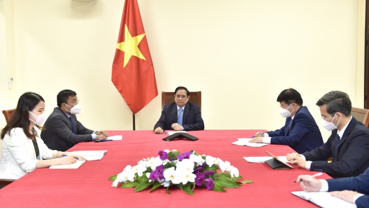 Pfizer pledges to speed up COVID-19 vaccine delivery to Vietnam