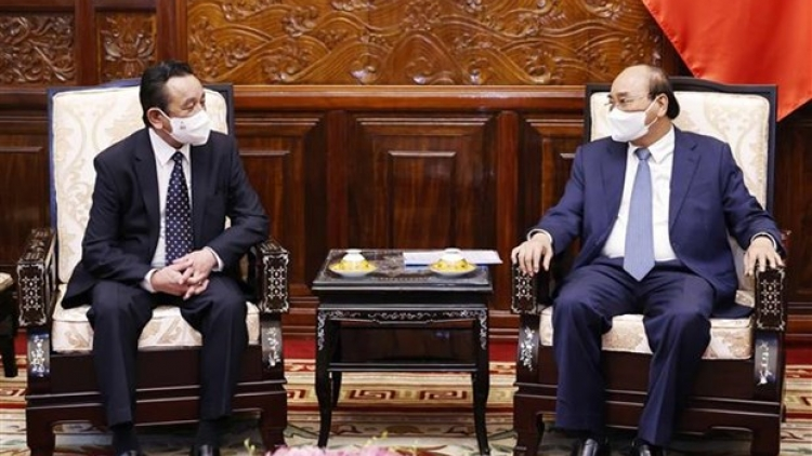 President receives outgoing Mongolian Ambassador