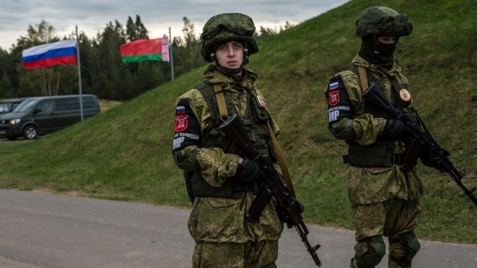 Nga tập trận lớn với Trung Quốc và Belarus giữa căng thẳng với phương Tây