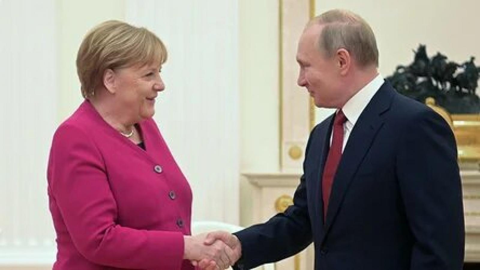 Tổng thống Nga và Thủ tướng Đức sắp hội đàm, có thể thảo luận Dòng chảy phương Bắc 2