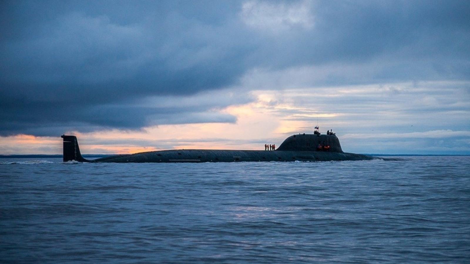 Tàu ngầm Nga trang bị tên lửa siêu thanh - Đối thủ đáng gờm với bất kỳ lực lượng nào