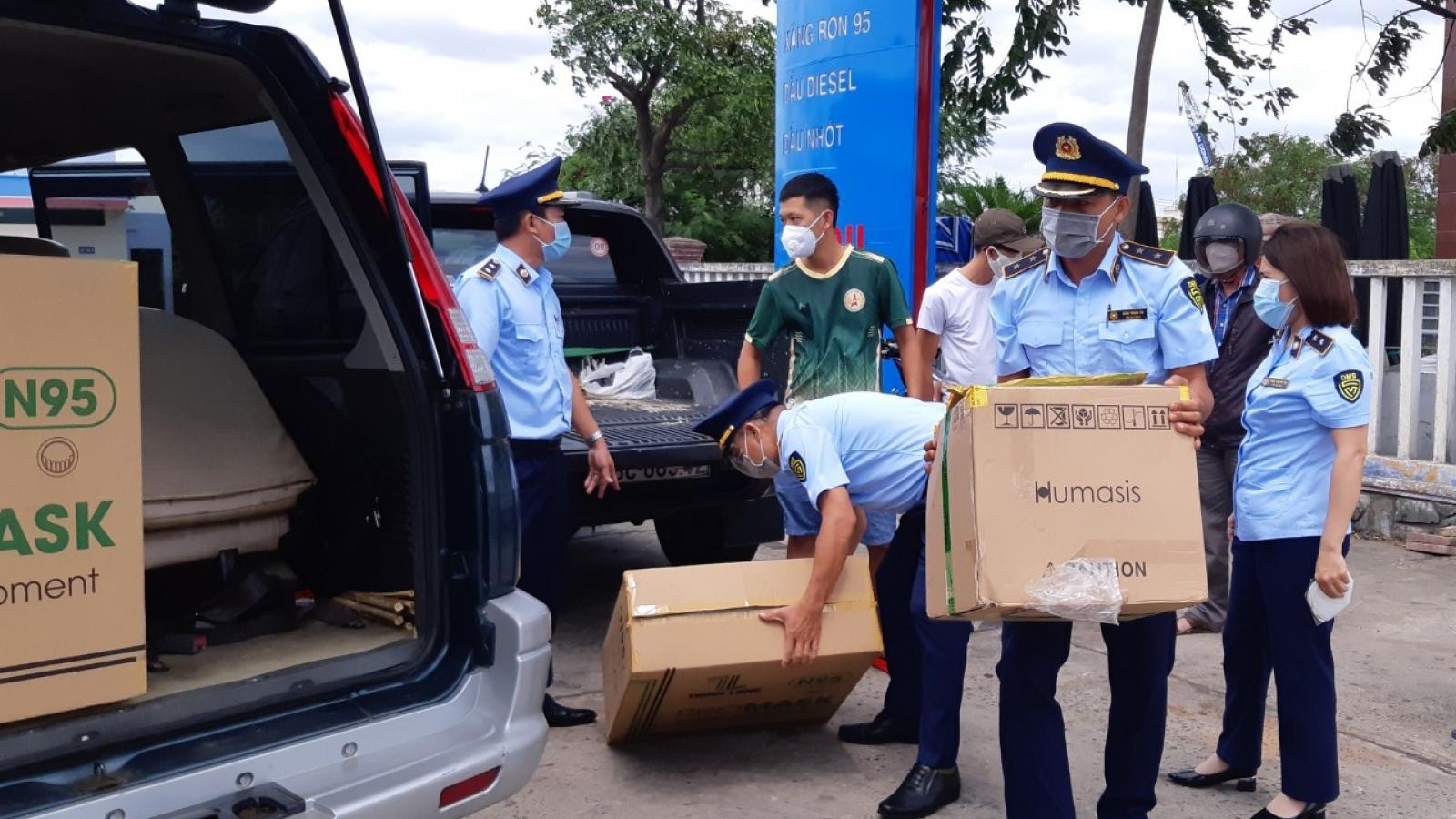 Phú Yên: Bắt quả tang bán kit test nhanh Covid-19 và khẩu trang y tế không theo quy định
