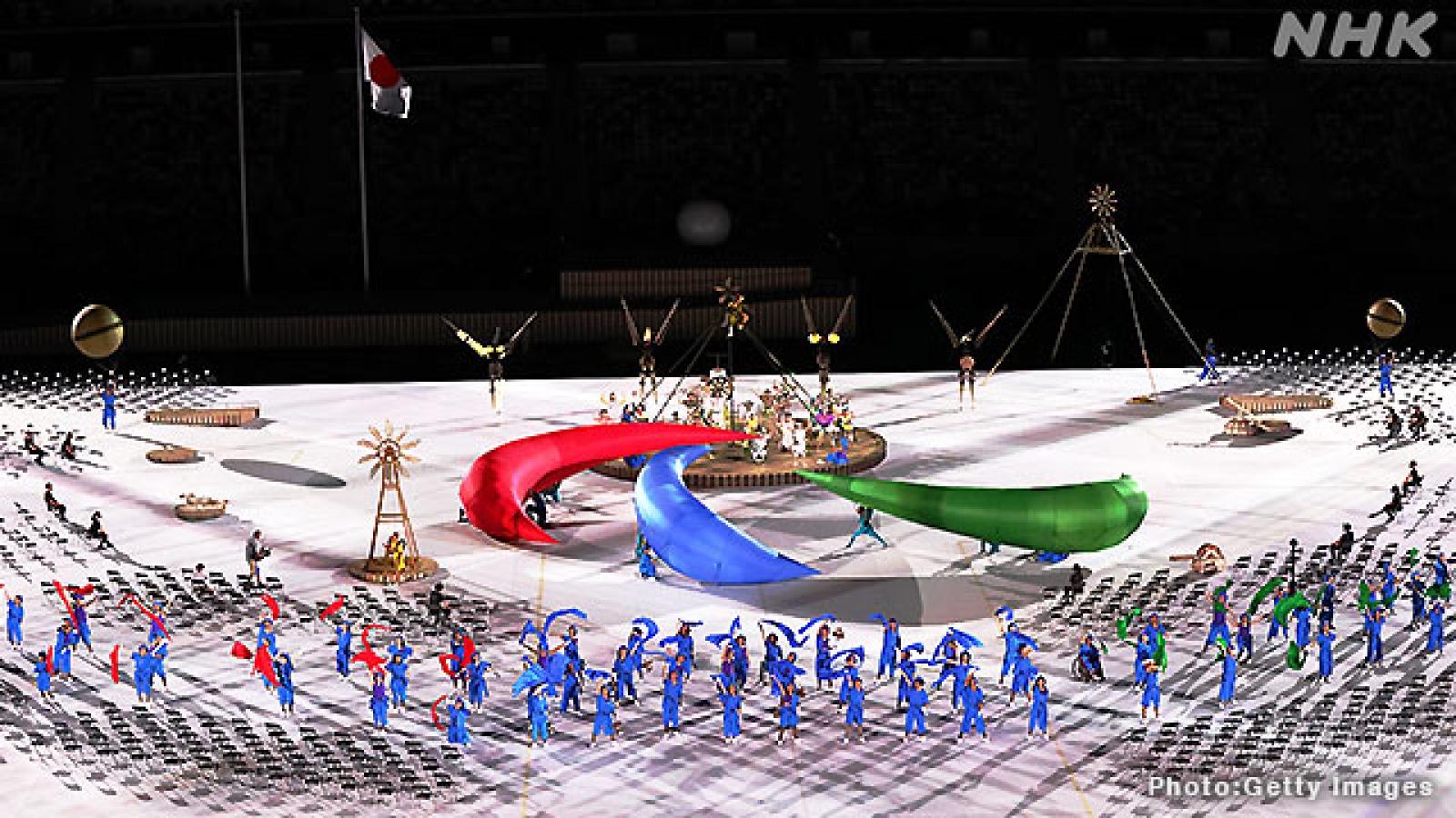Paralympic Tokyo 2020 chính thức khai mạc