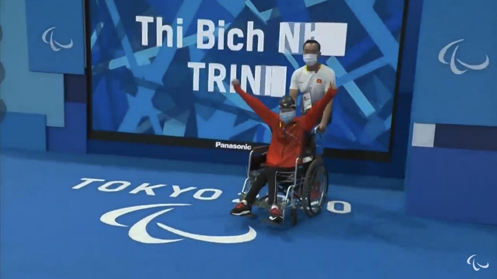 Bích Như và Đỗ Thanh Hải lỡ cơ hội giành huy chương Paralympic Tokyo 2020