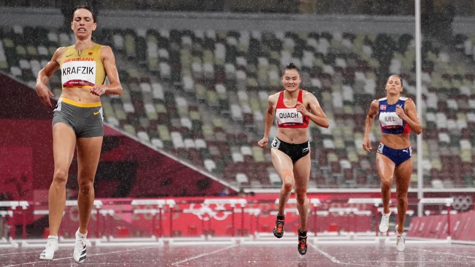 Quách Thị Lan dừng bước ở bán kết, thể thao Việt Nam chính thức chia tay Olympic Tokyo