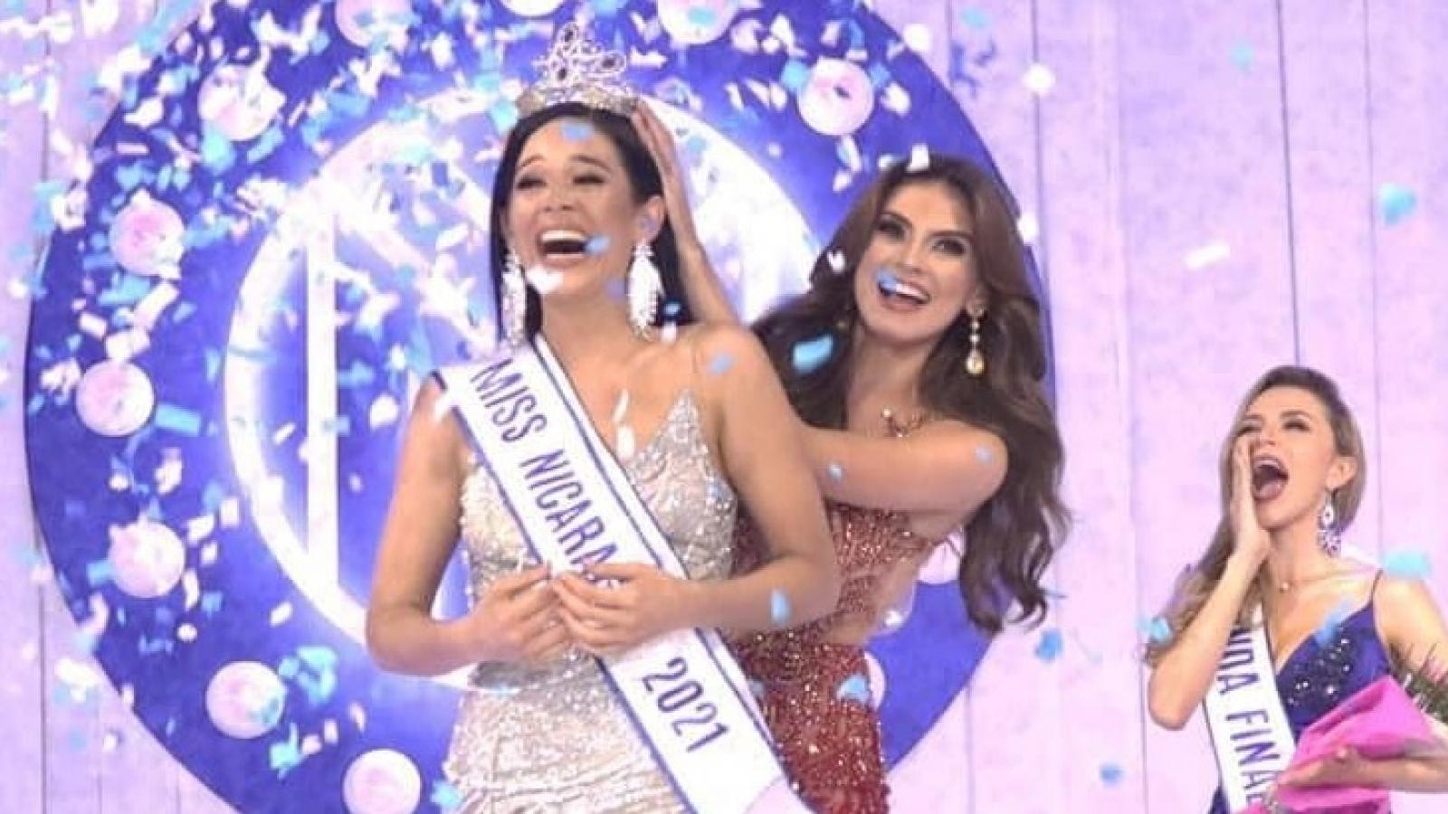 """""""Cô gái công nghệ"""" trở thành Hoa hậu Hoàn vũ Nicaragua 2021"""