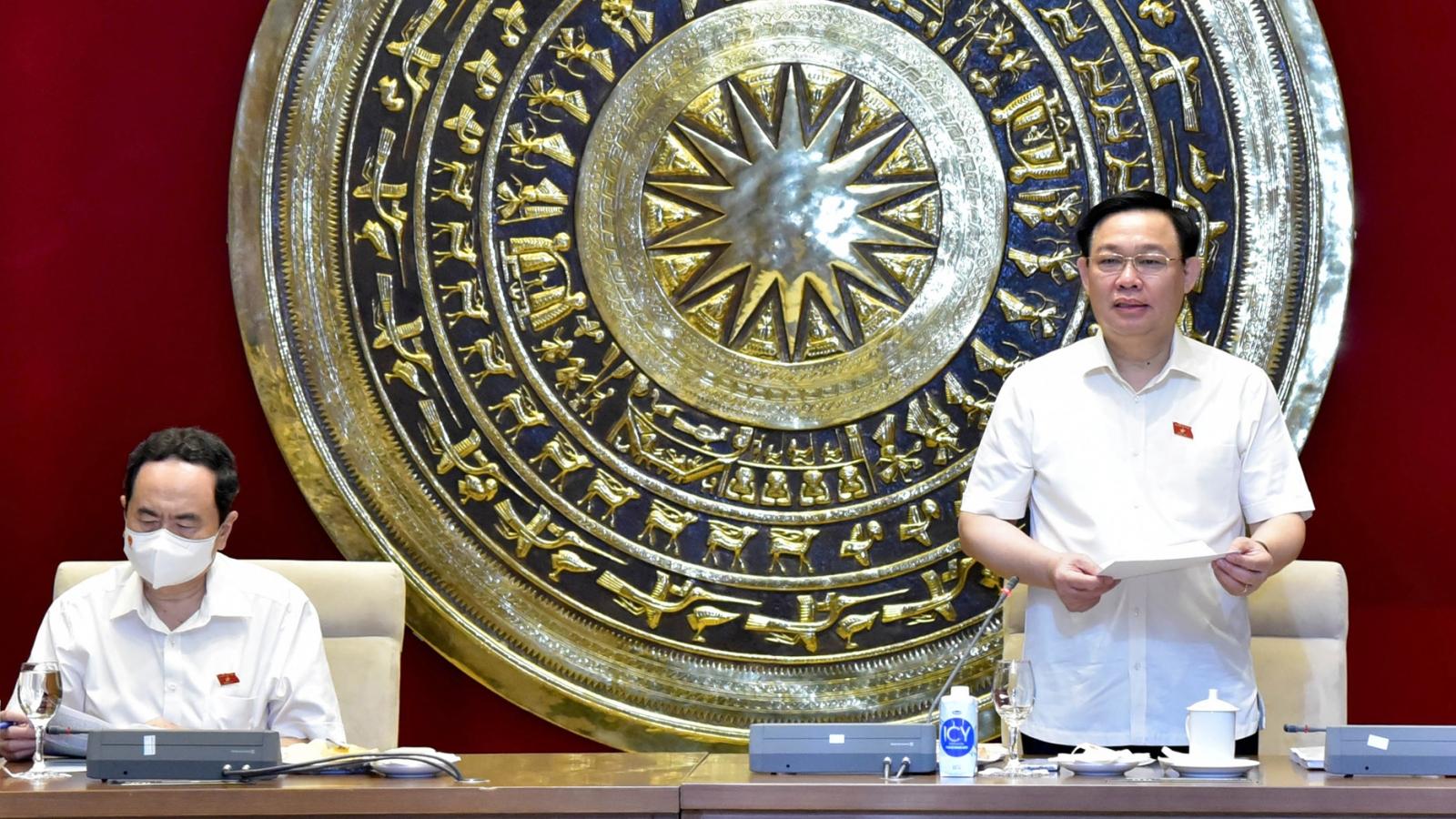 Ông Vương Đình Huệ: Nêu cao liêm chính trong tham mưu, phục vụ Quốc hội