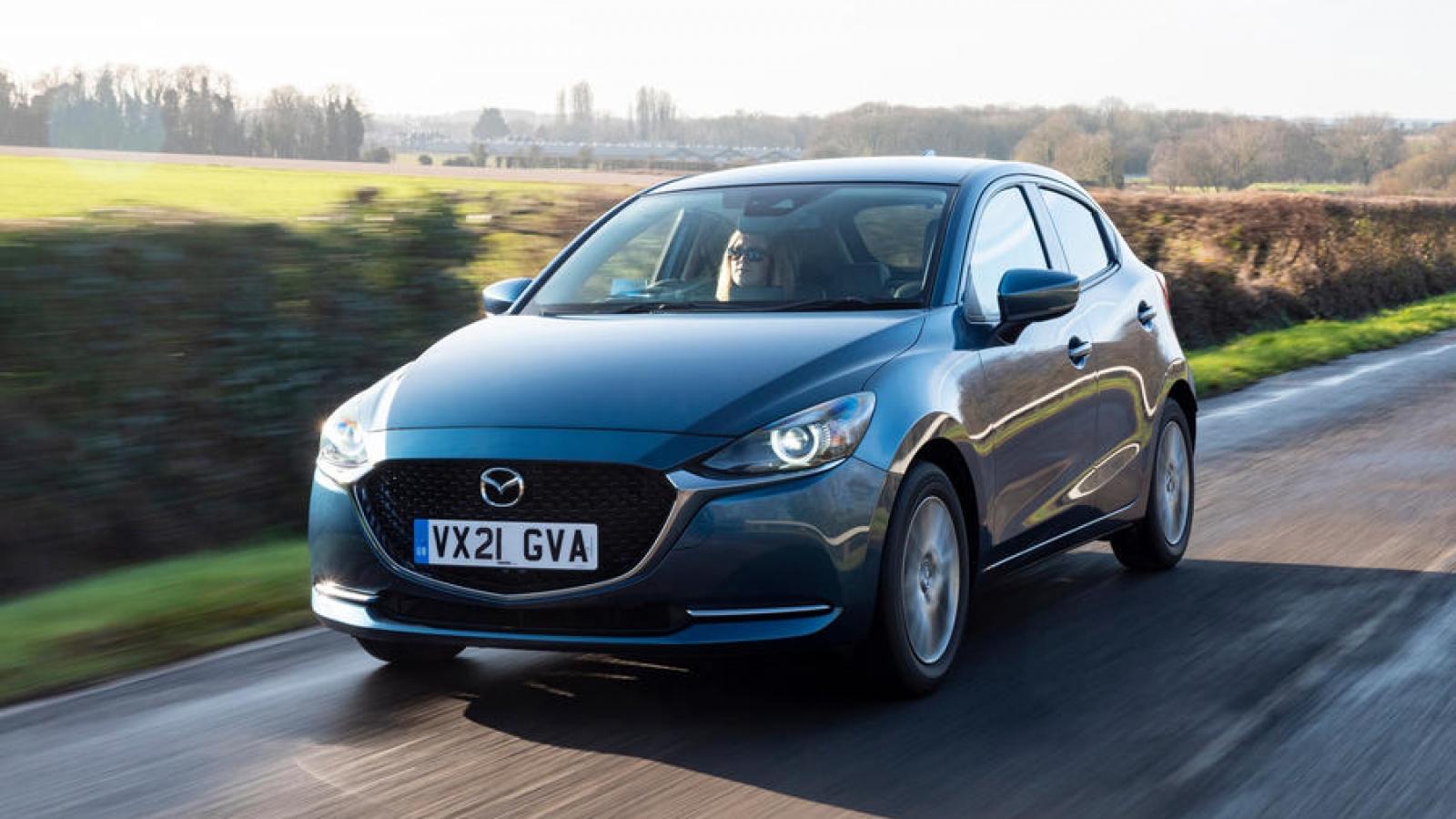 Mazda2 giới thiệu phiên bản nâng cấp 2022