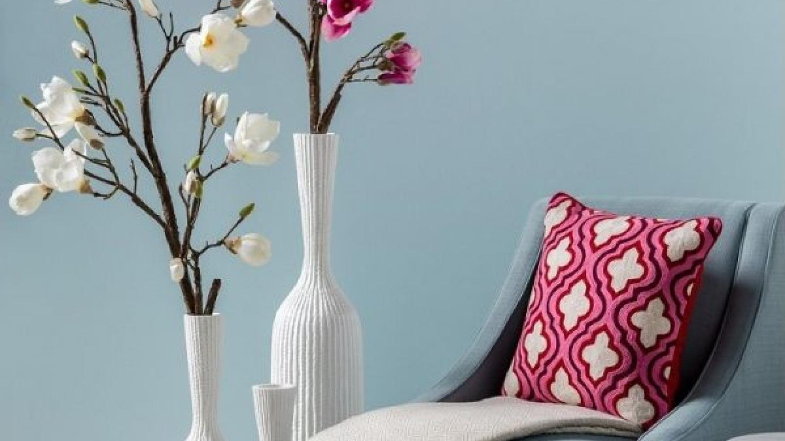 Những mẫu bình hoa trang trí phù hợp với mọi phong cách nội thất
