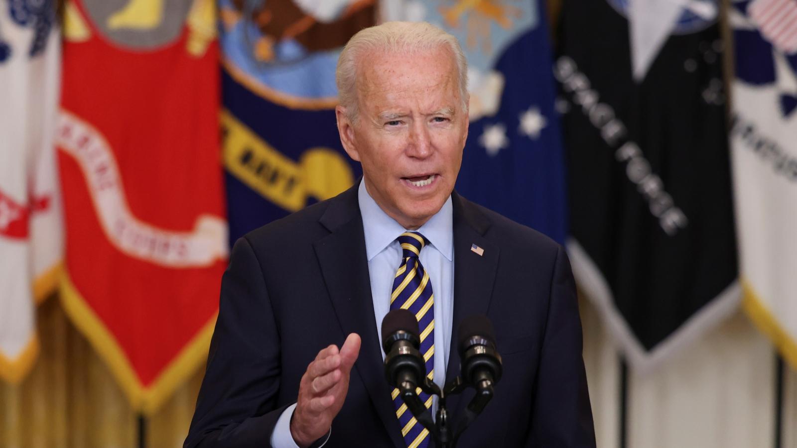 Tổng thống Mỹ họp báo về tình hình Afghanistan