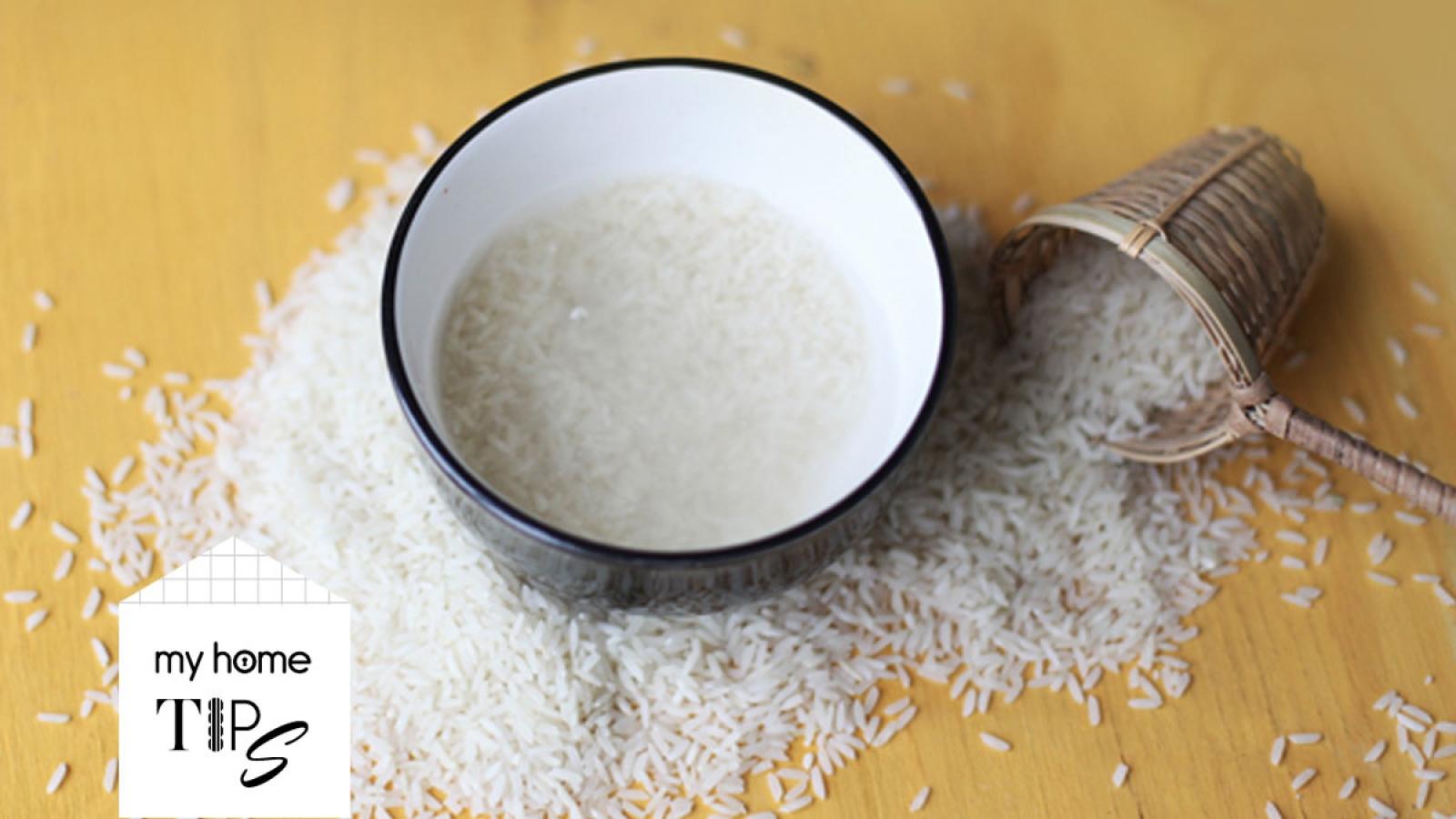 """Lợi ích """"thần thánh"""" của nước vo gạo trong việc dọn dẹp nhà cửa"""