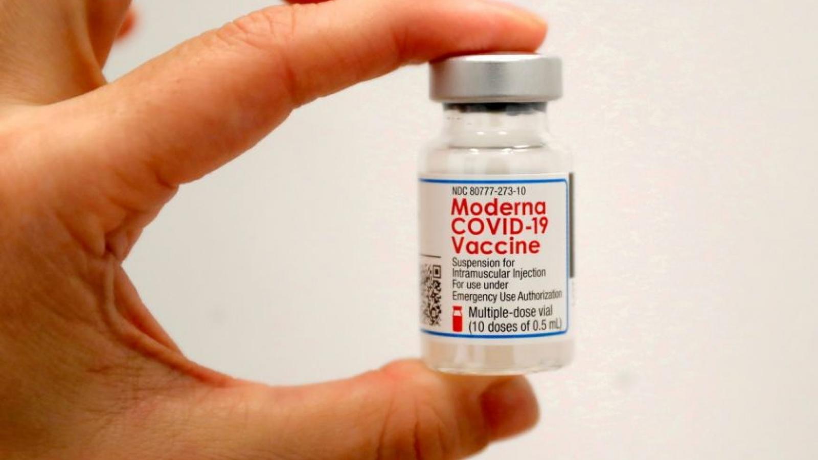 Vaccine Covid-19 của Moderna hiệu quả 93% trong 6 tháng sau tiêm liều thứ hai